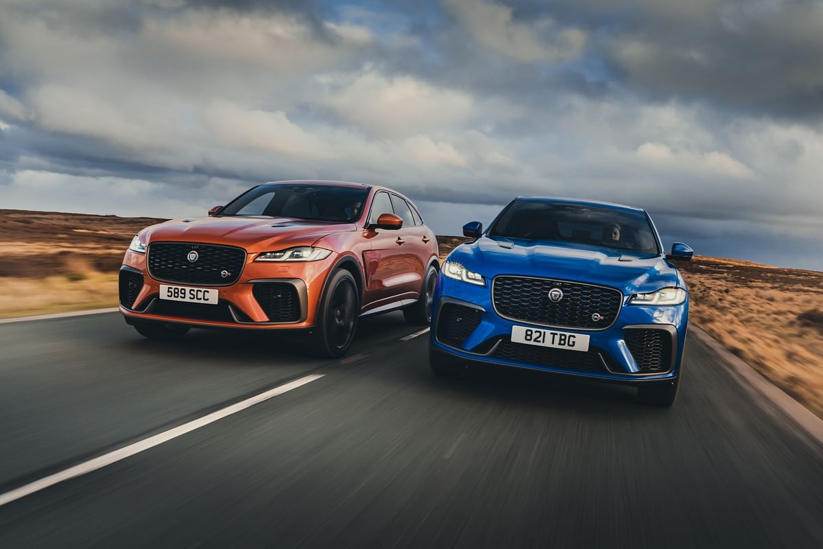 Jaguar commences bookings for the 2021 F-Pace SVR in India
