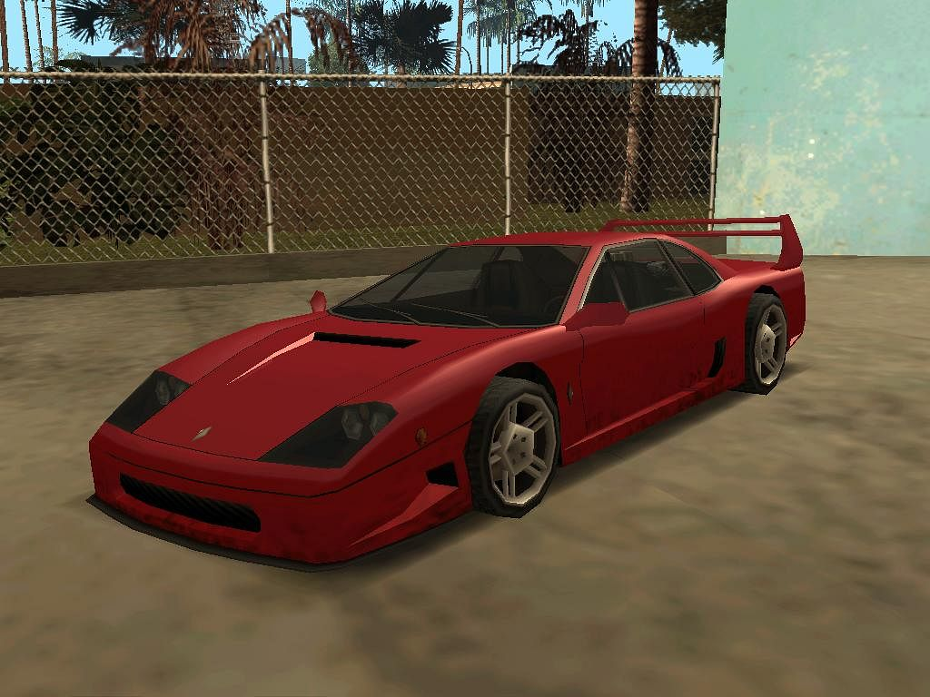 Among the fastest cars in the game, the Turismo was second only to the Infernus