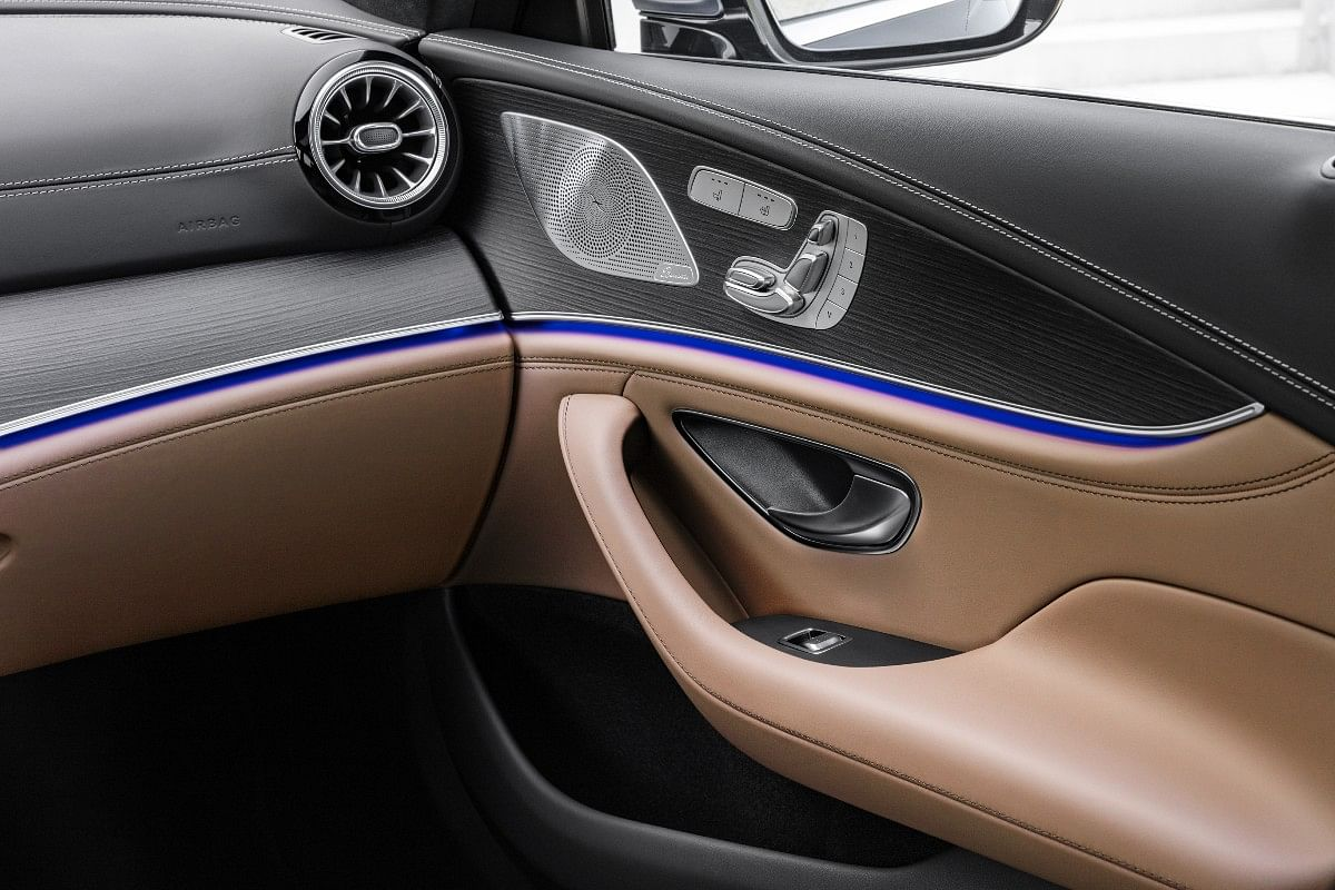 Nappa leather matching interiors in facelifted Mercedes-AMG GT 4-Door Coupé
