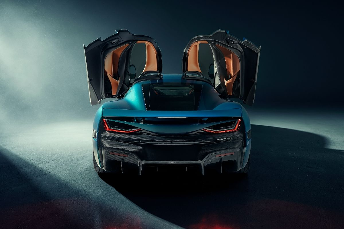 The rear looks just as imposing as the front