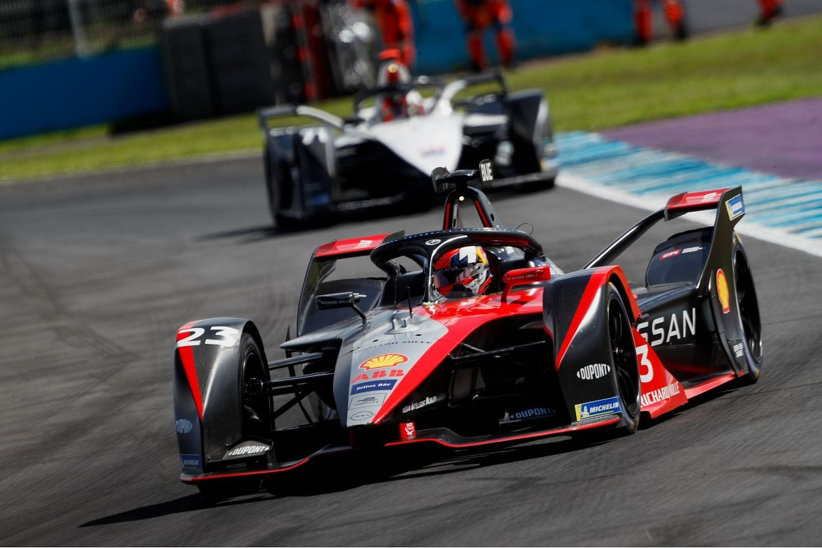 The Nissan E-dams team currently stands at tenth position with 64 points