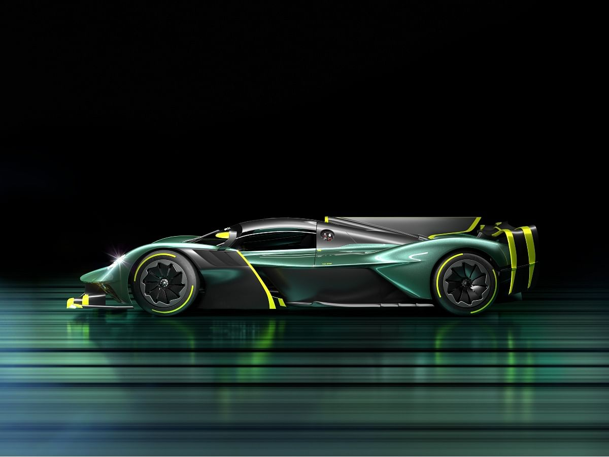 The interiors of the Valkyrie AMR Pro are yet to be revealed