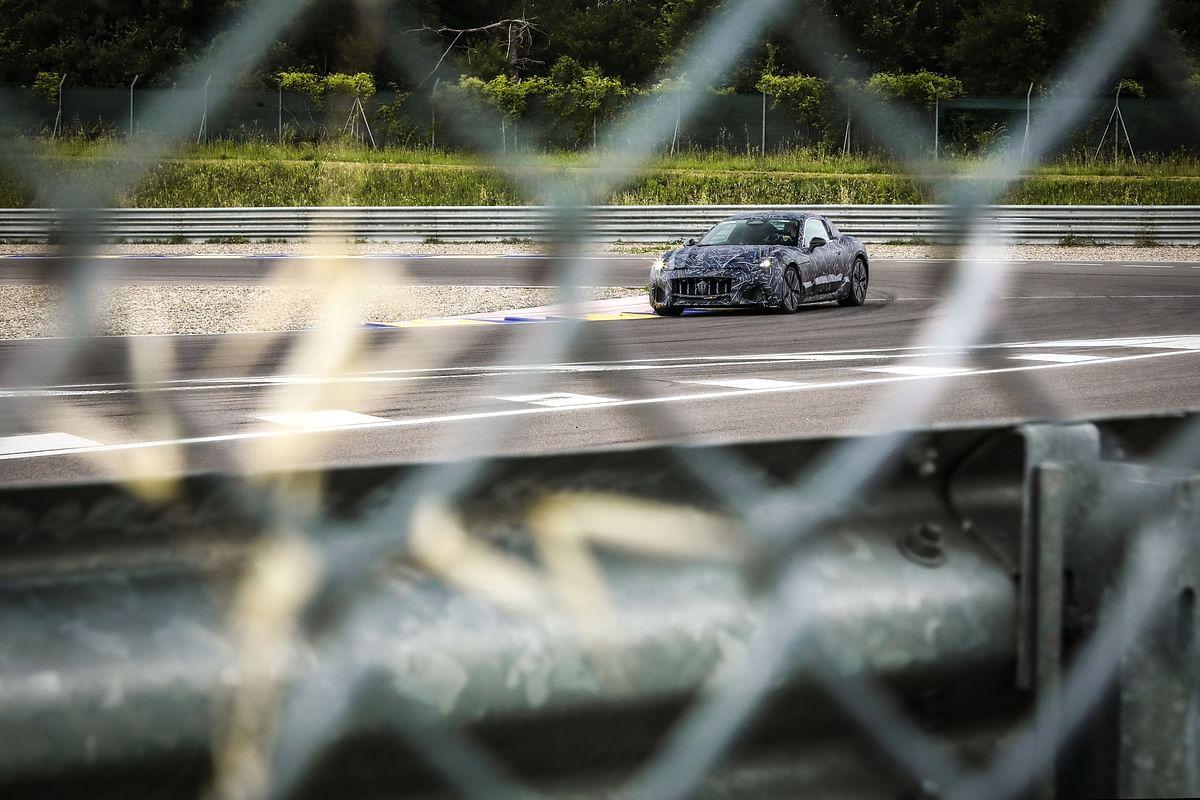 Next gen Maserati GranTurismo prototype teased