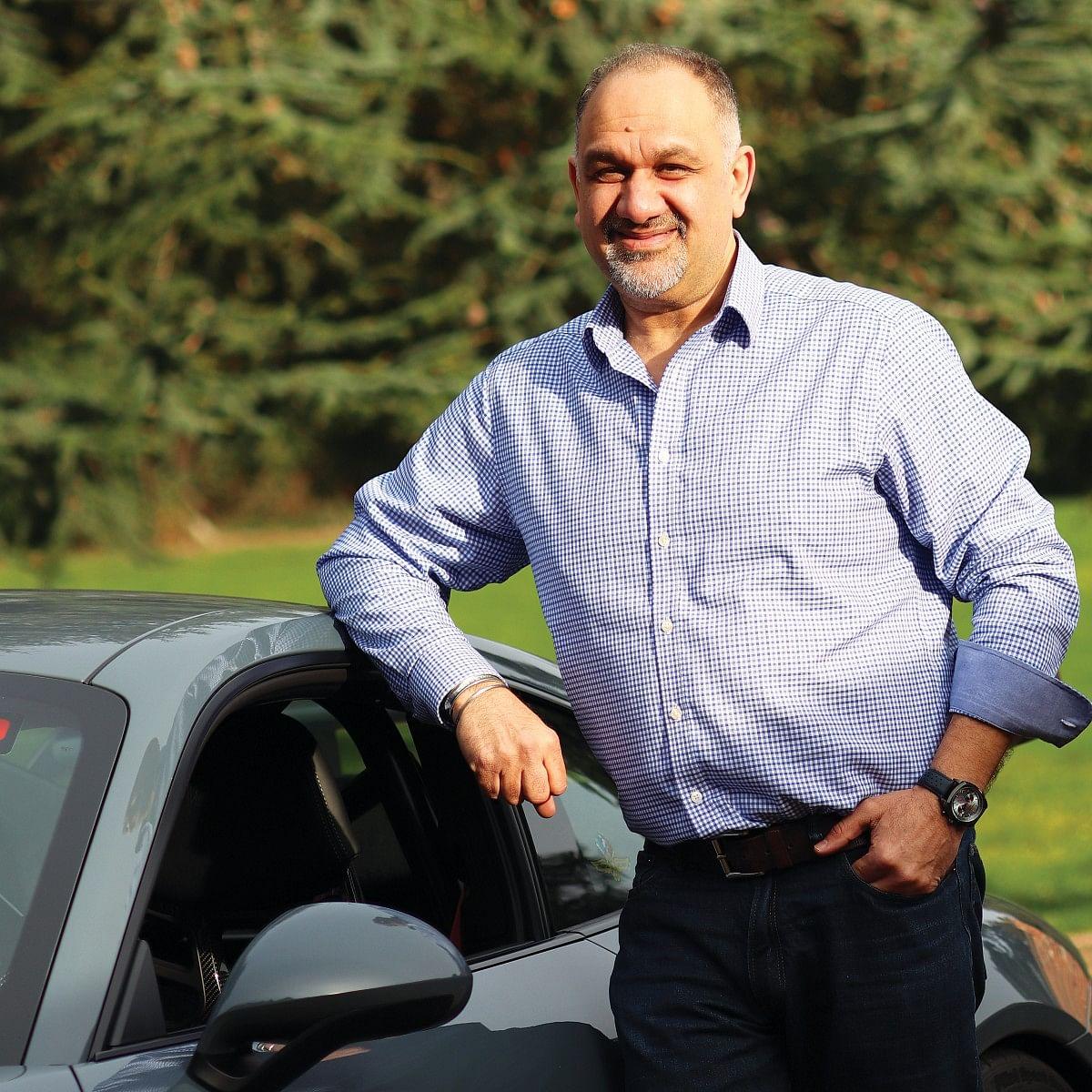 Shami Kalra, founder of Omologato watches