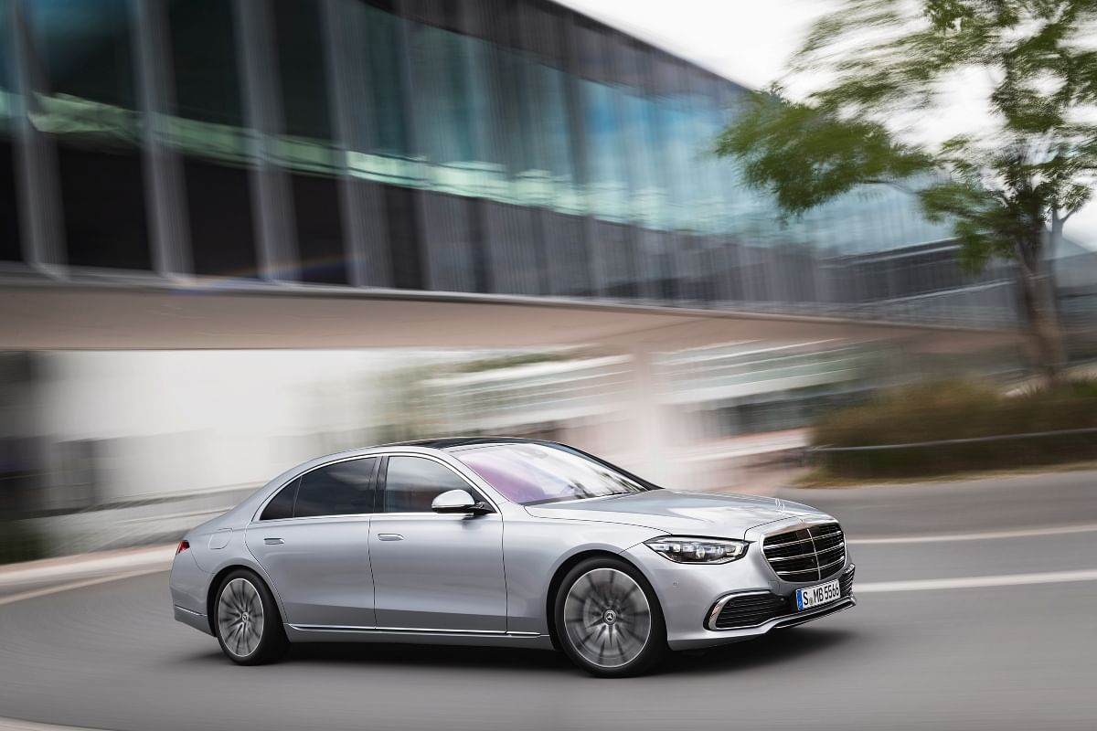 The S-Class boasts of a massive 3.1 meter wheelbase