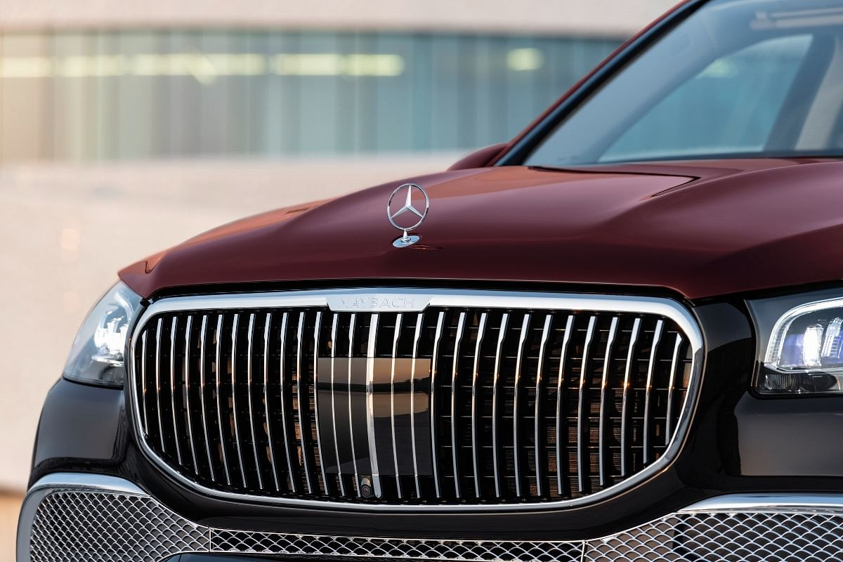 Maybach GLS is the only Mercedes SUV to get an upright three-pointed star