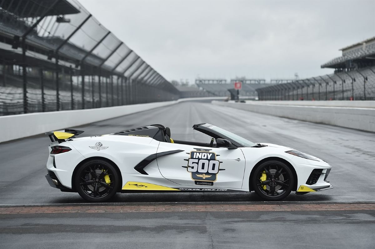 The all-American pace car for Indy 500