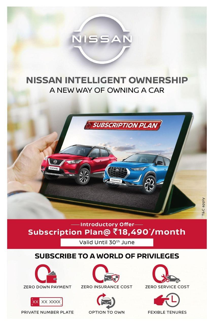 Nissan Intelligent Ownership Subscription Plan