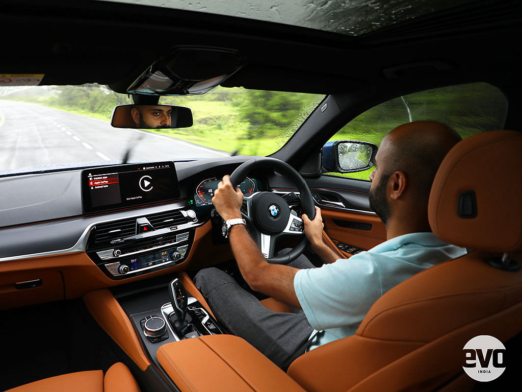 The driver's seat is where you'd want to be in the new BMW 530i