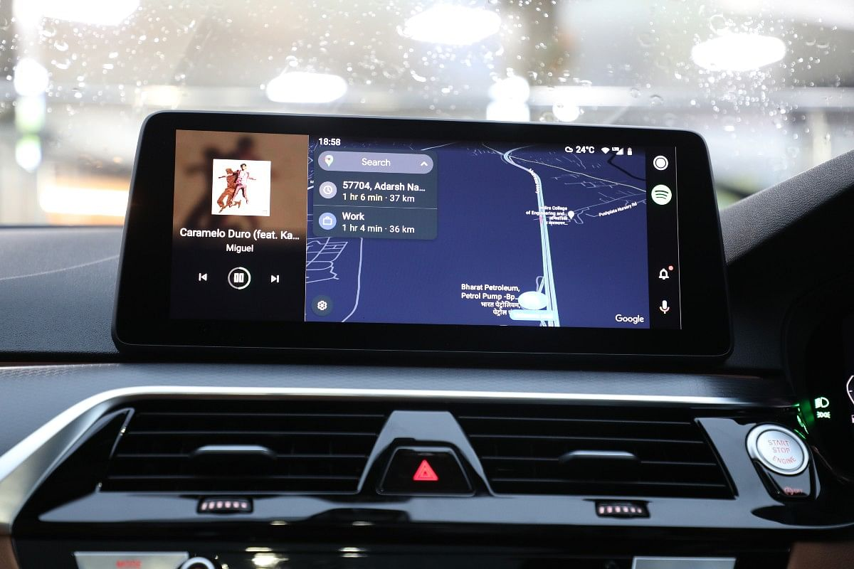At the focal point of the interior is a 12.3-inch infotainment touchscreen