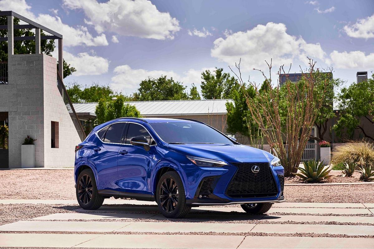 Lexus unveils the new NX 2022