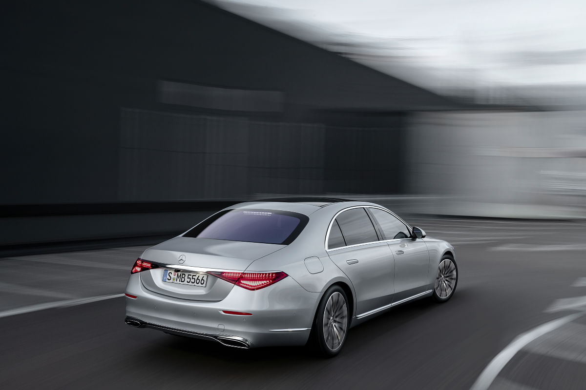 The S-Class will come to India as a completely built unit