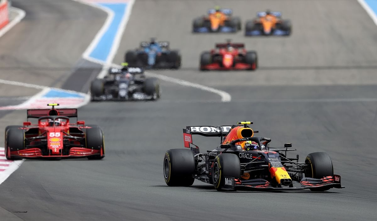 The drivers faced high degradation on their tyres