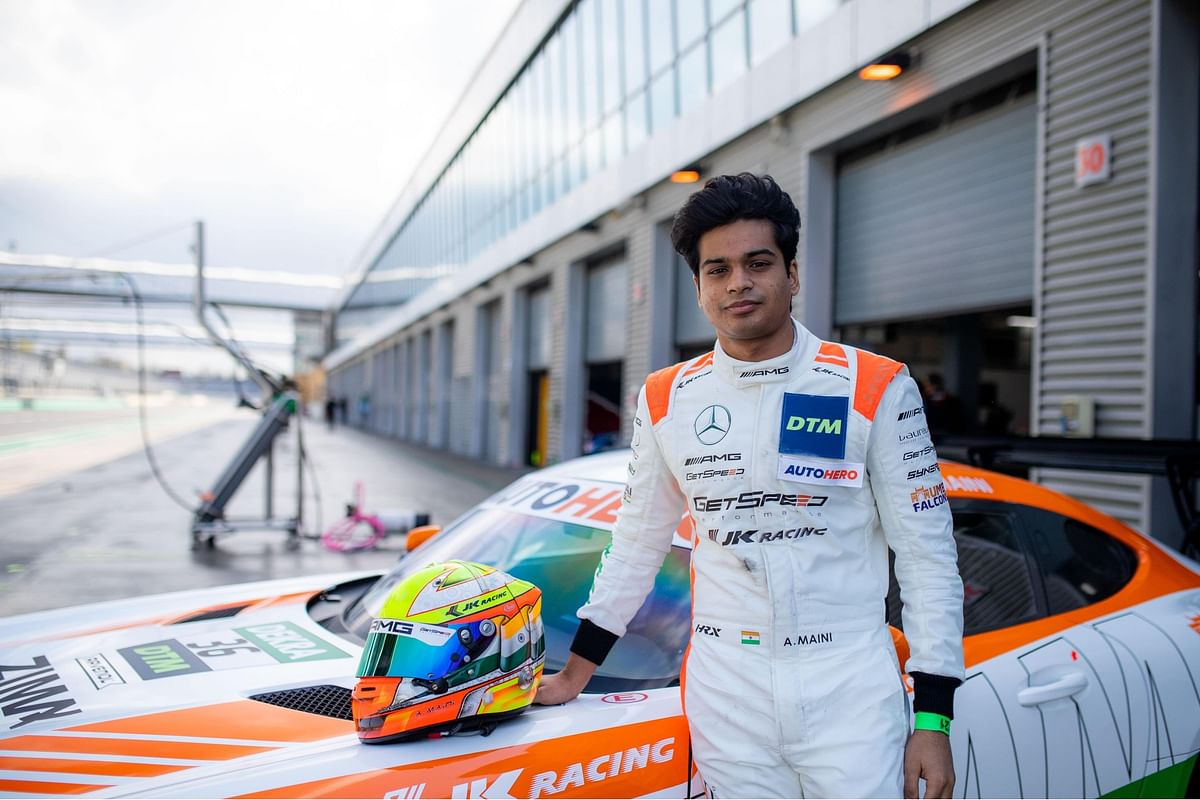 Arjun Maini creates history, becomes the first Indian to race at DTM