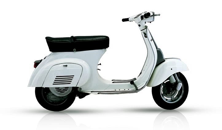 The Vespa 50 Special which the 3D era Faggio is based on