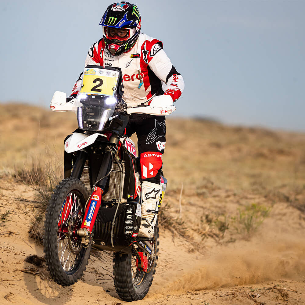 Caimi was happy with his overall performance at Rally Kazakhstan