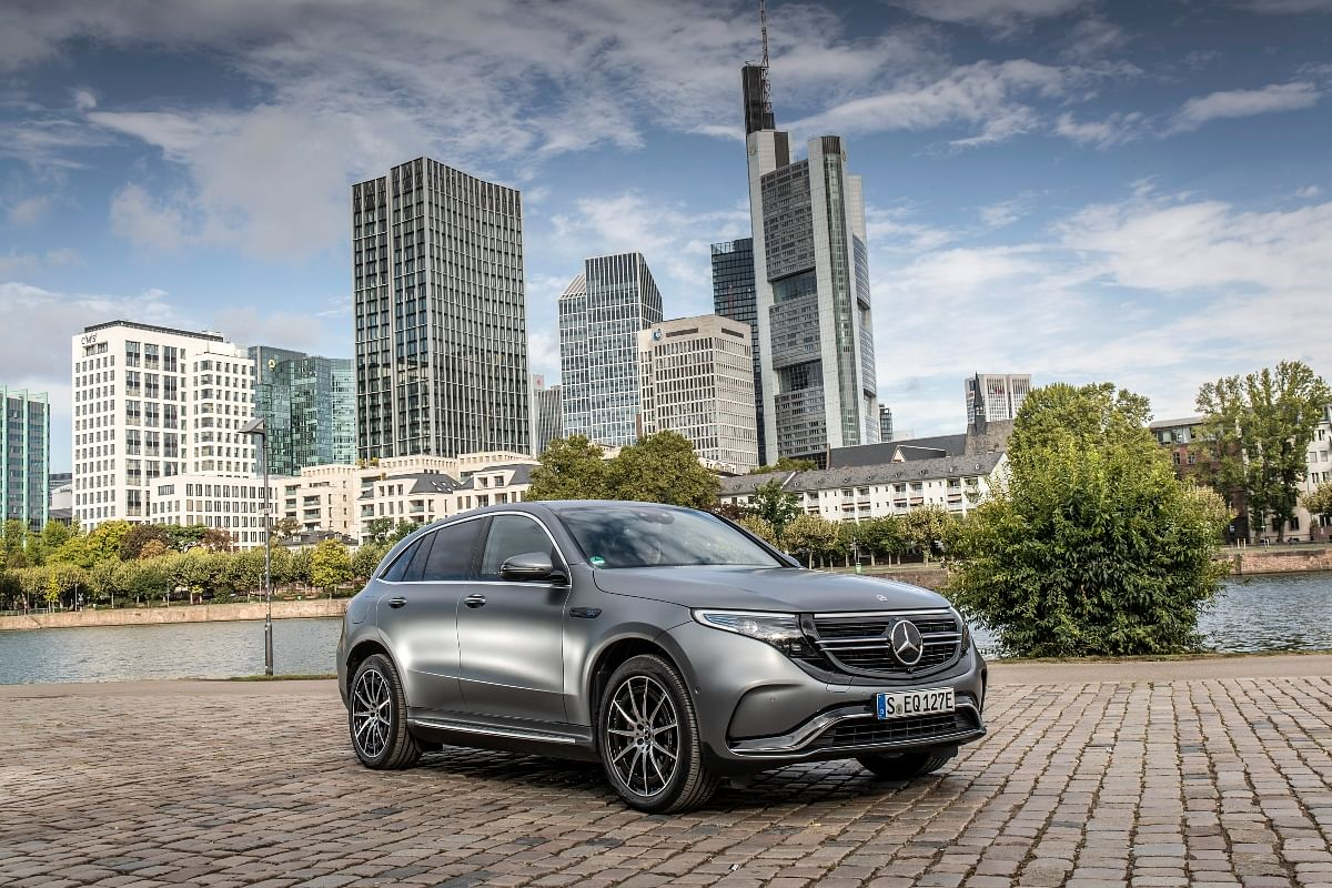 The Mercedes Benz EQC boasts of being a proper off-roader