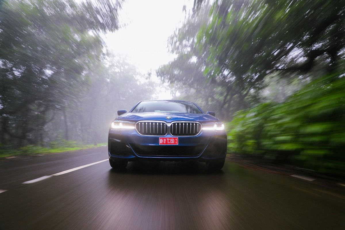 The new 5 Series continues to be the most driver focussed car in its segment