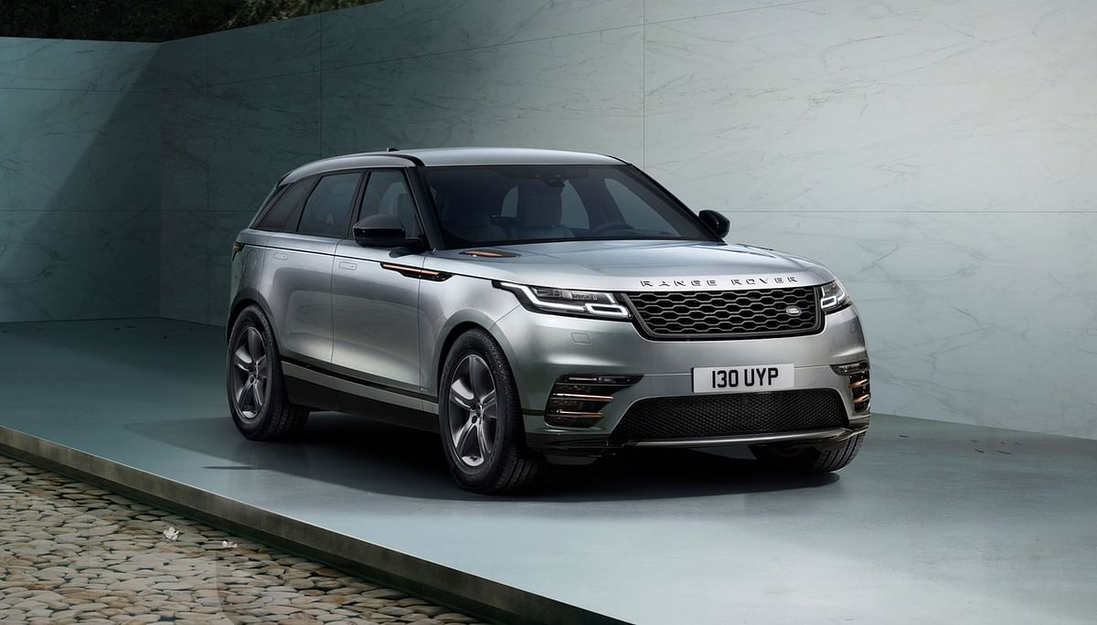 The Range Rover Velar is available with a Driver Assistance system