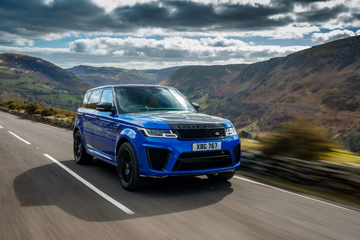 The daunting muscular design of the SVR