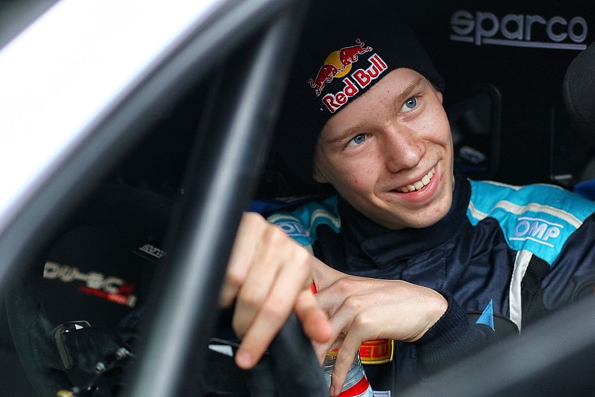 Rovanperä started training from a young age and rallying was in his blood