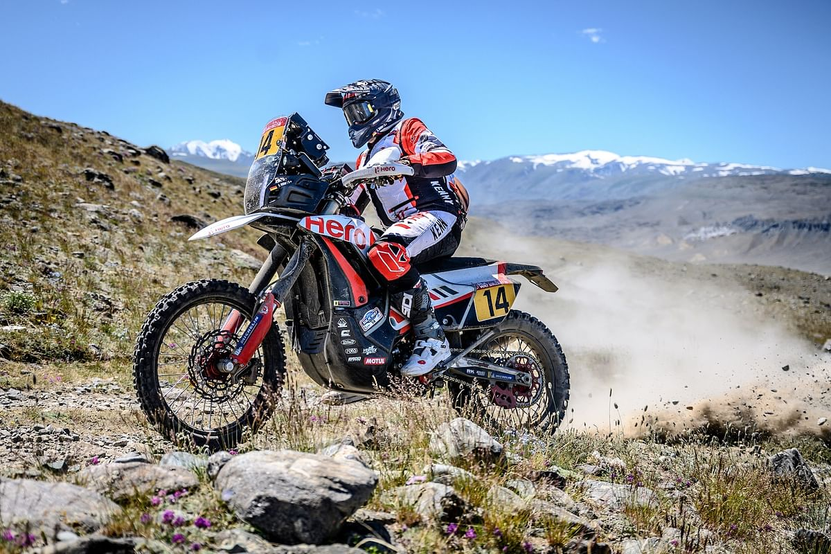 Hero MotoSports' riders finish stage two in top ten