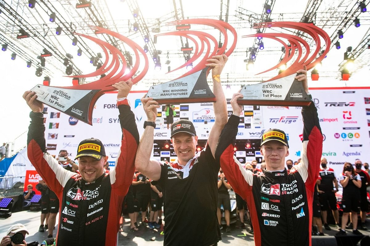 Rovanperä makes history at Rally Estonia by becoming youngest WRC winner