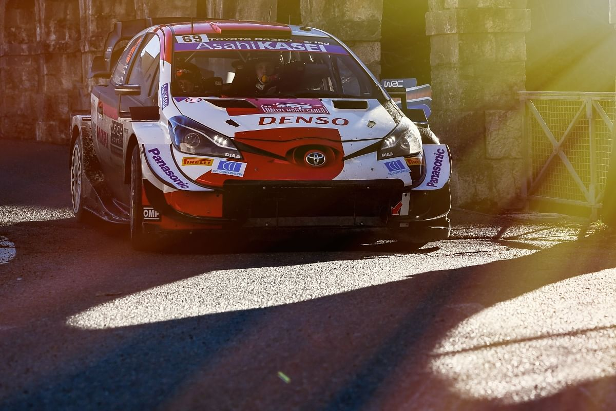 The Toyota Yaris WRC in all its glory