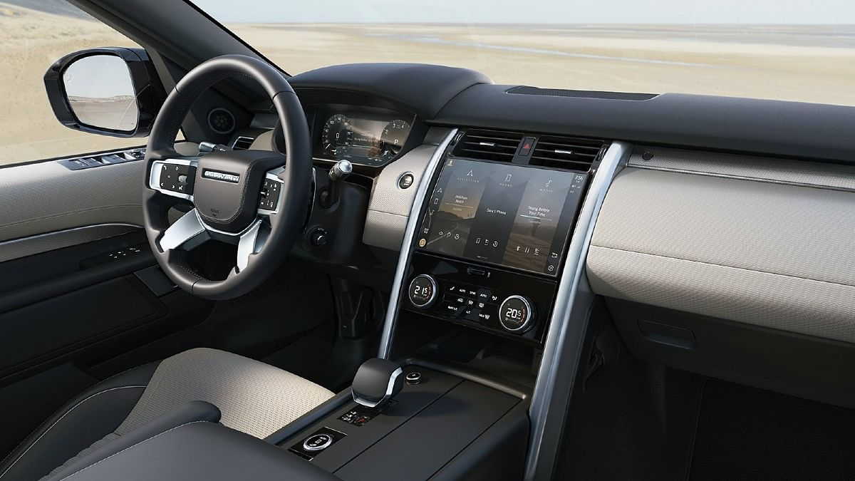 The 2021 Discovery features a Pivi Pro infotainment system