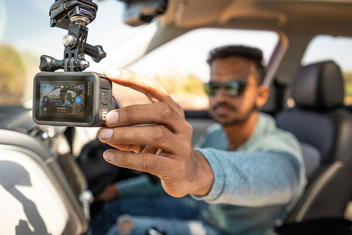 The GoPro Hero 9 Black is slightly bigger in size and accomodates a 40 per cent bigger battery