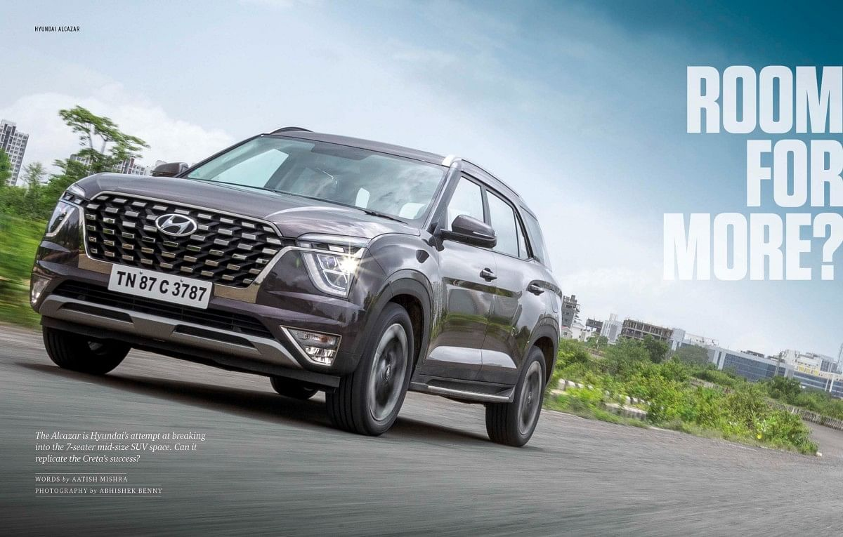 The Alcazar is much more than a stretched Creta