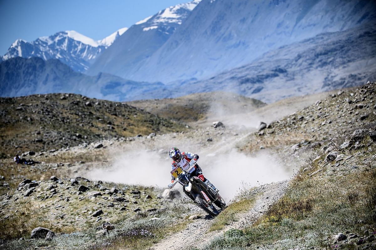 Hero MotoSports finish round three on a high despite changes to the Silk Way Rally stage structure