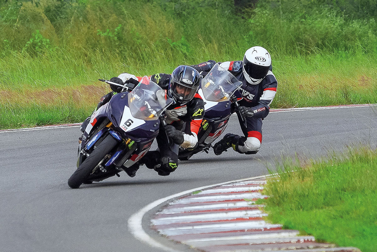 Entry criteria for the RR 310 cup is minimum one podium finish in a FMSCI-certified road racing events