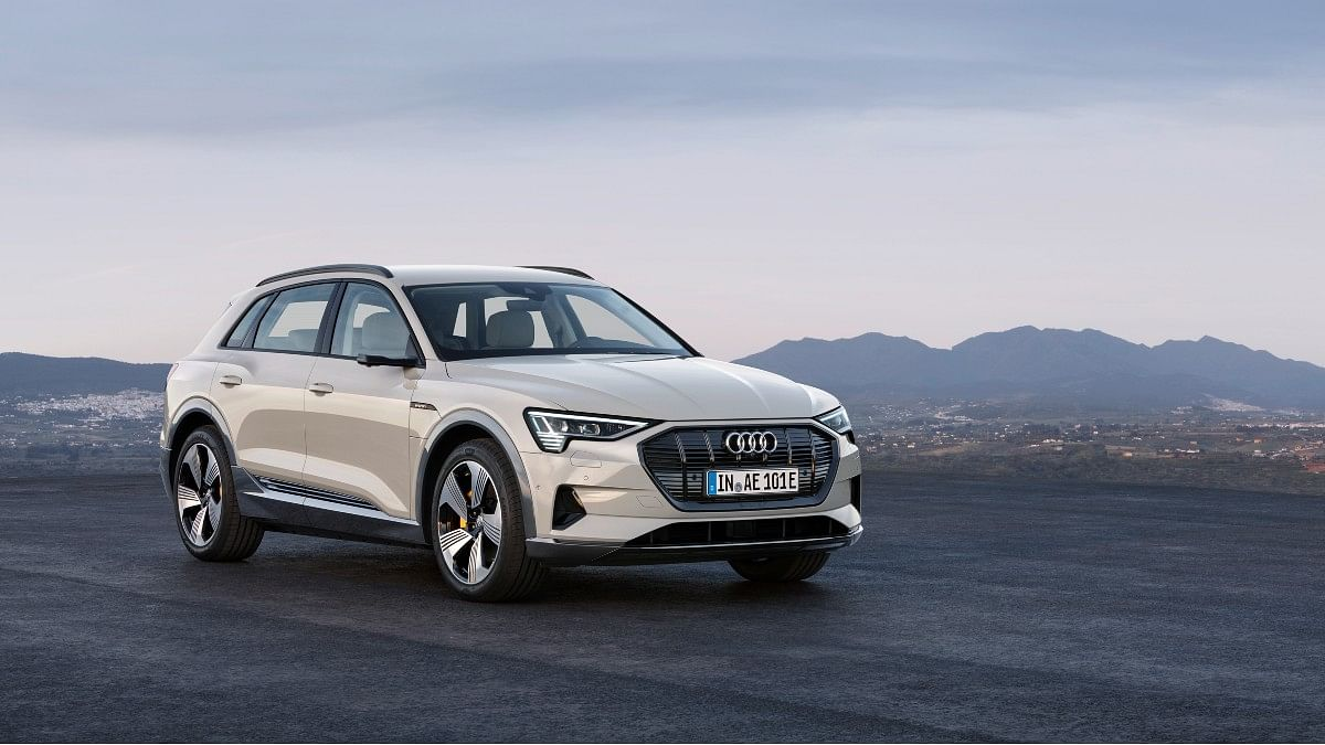 The Audi e-tron in conventional-SUV form