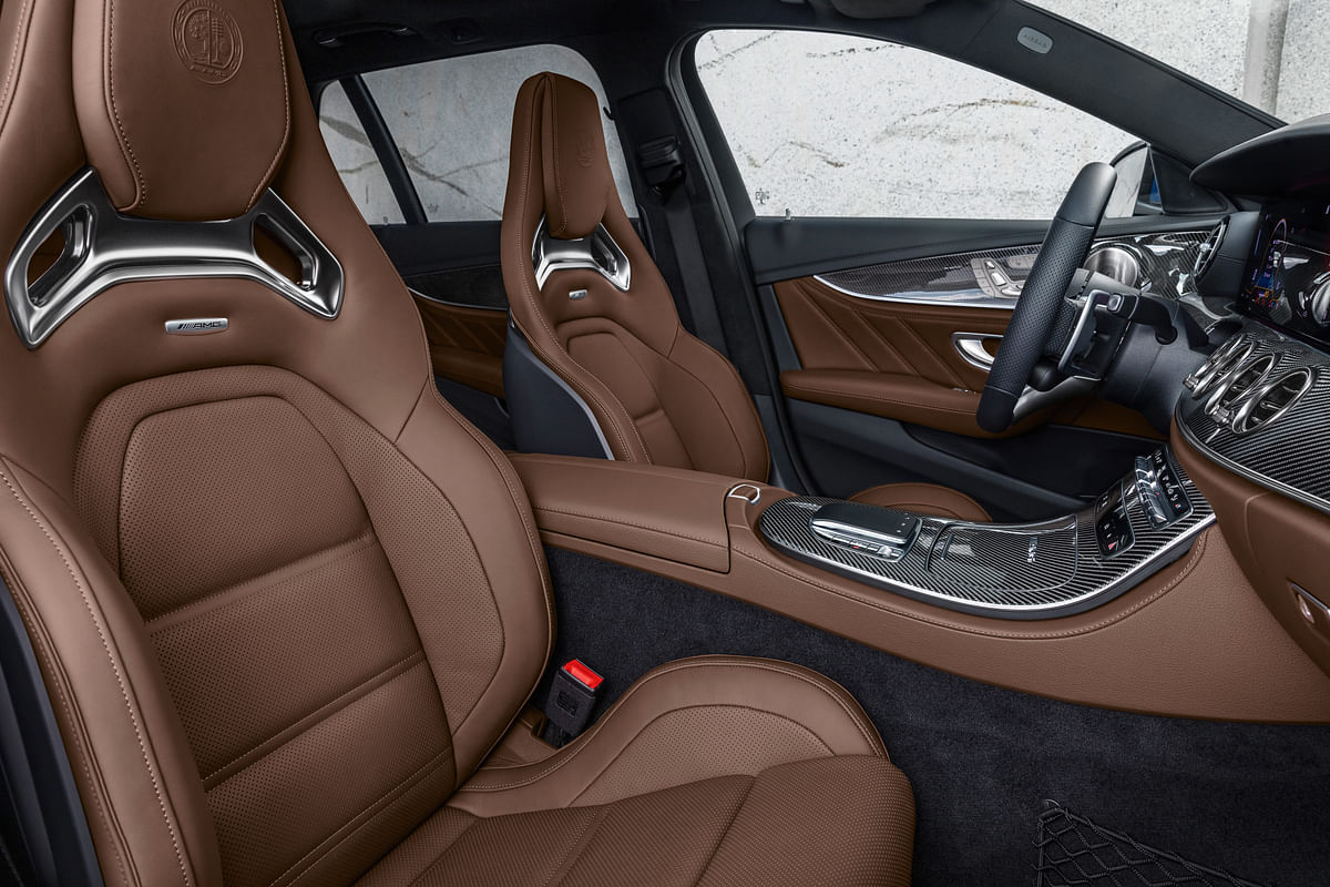The interiors get an AMG treatment making it feel more sportier to the customer