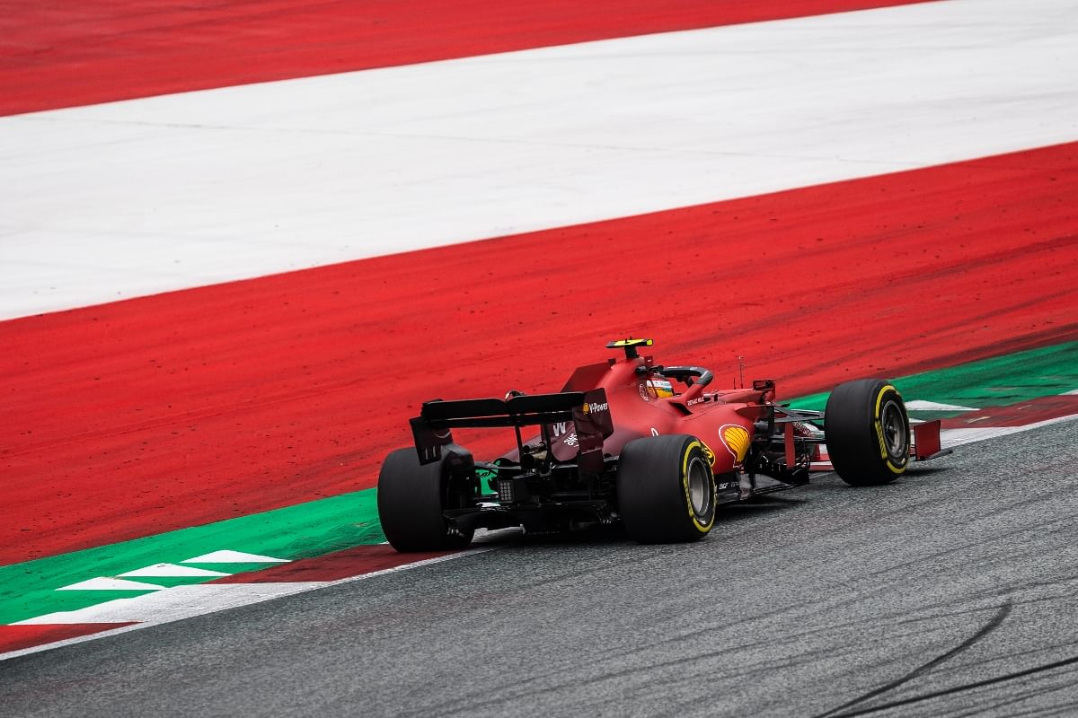 Ferrari was concentrating on optimising their race pace