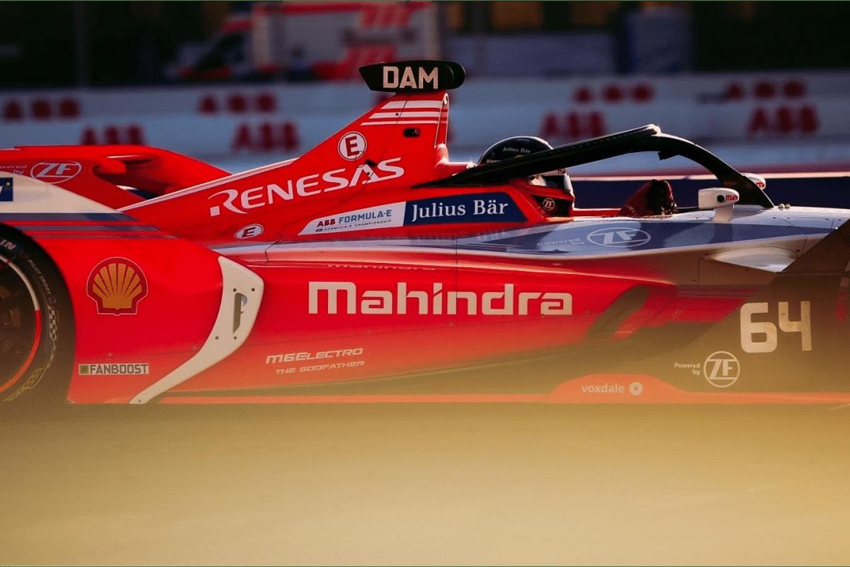 Alex Lynn and Mahindra Racing finish third at London E-Prix