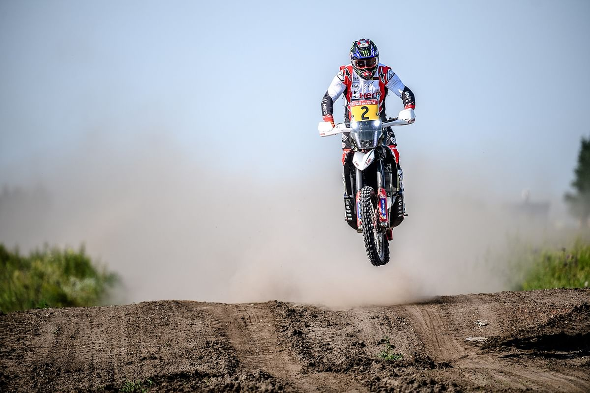Hero Motosports takes victory at Stage One of Silk Way rally