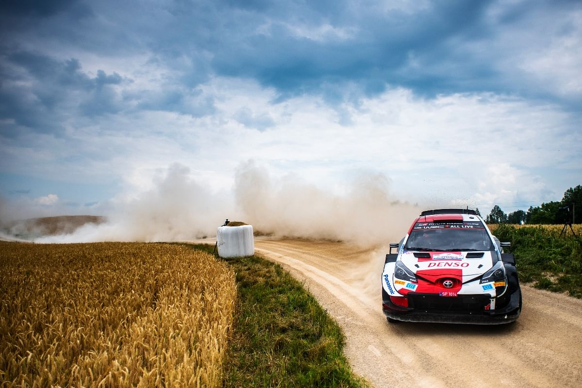 Drifting is not a showboat feature in WRC. Rather it's a necessaity.