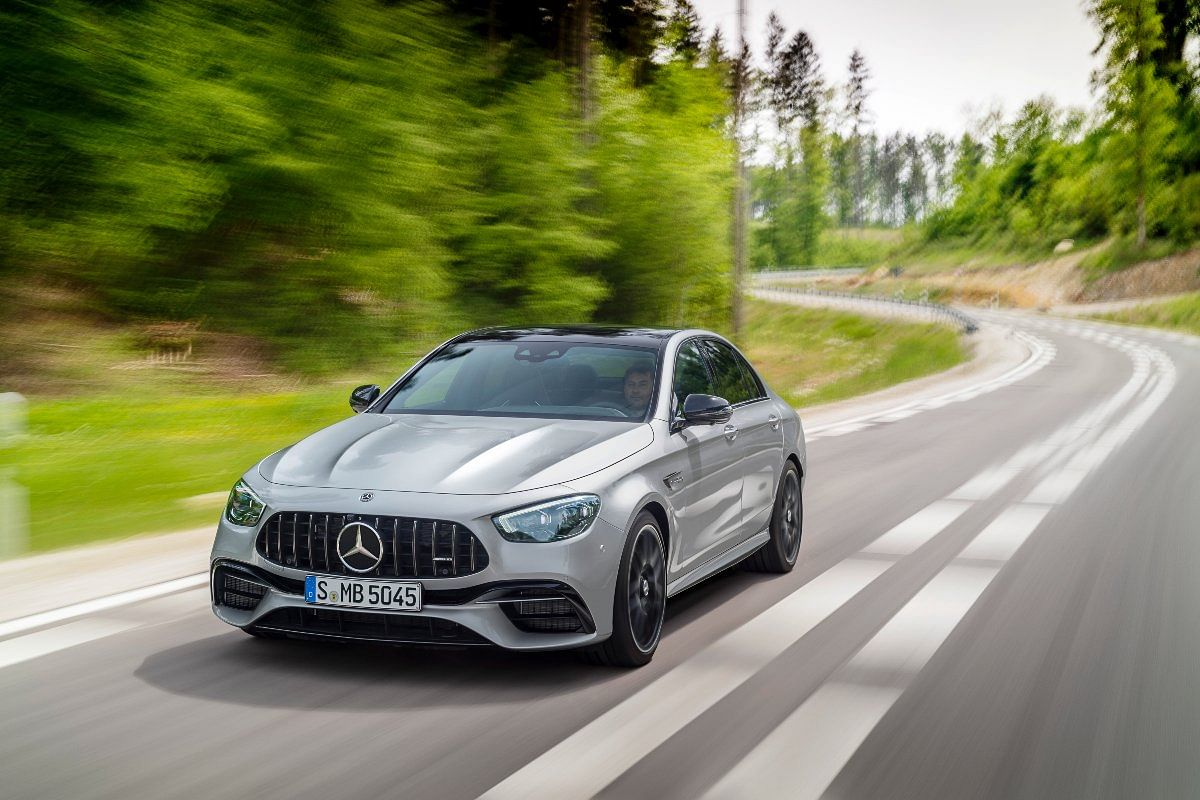 The E 63 S completes a 0-100 run in just 3.4 seconds
