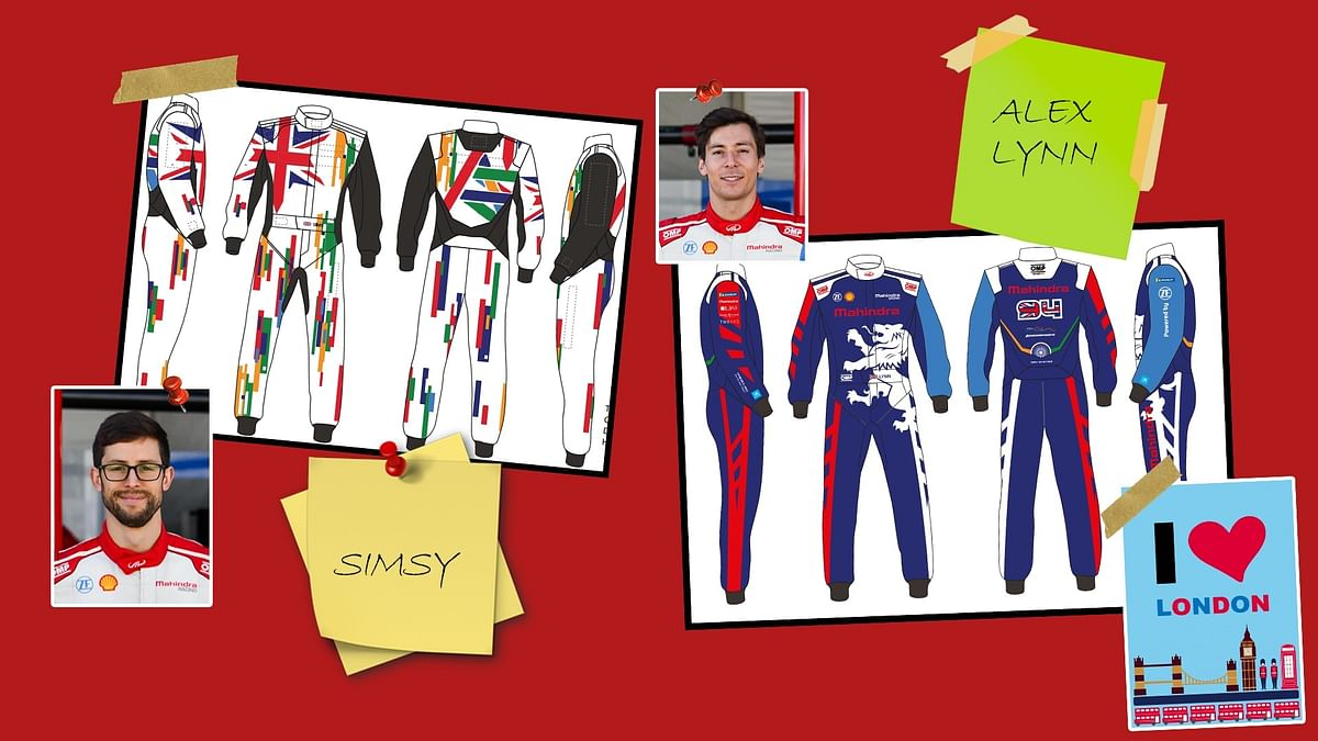 Alexander Sims and Alex Lynn to wear suit designs from the 2021 Driven By Design competition