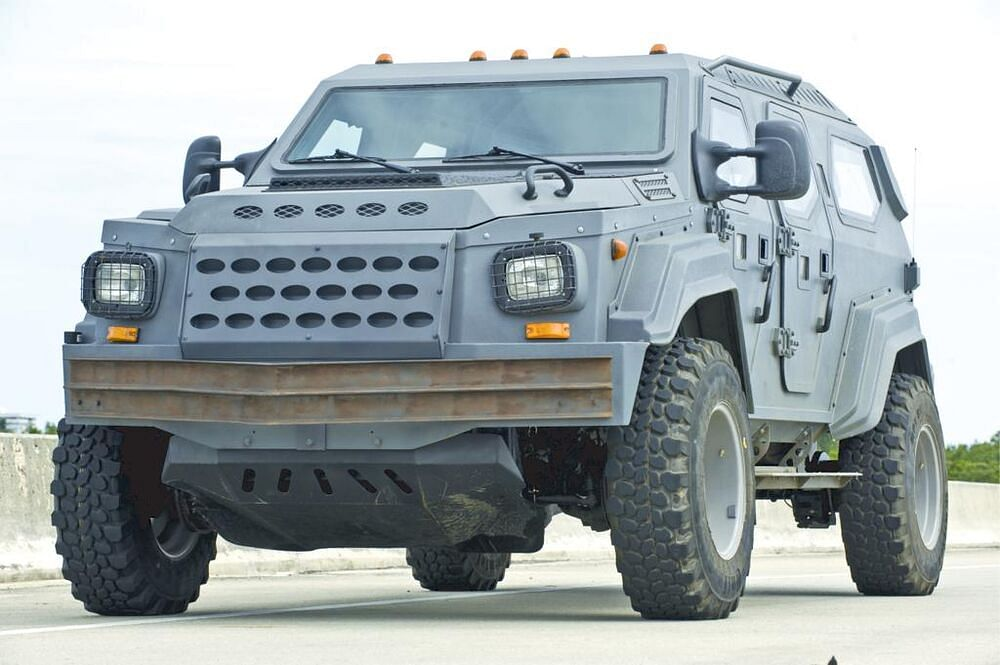Gurkha LAPV, the vehicle that literally makes a tonne of torque in the Fast Five