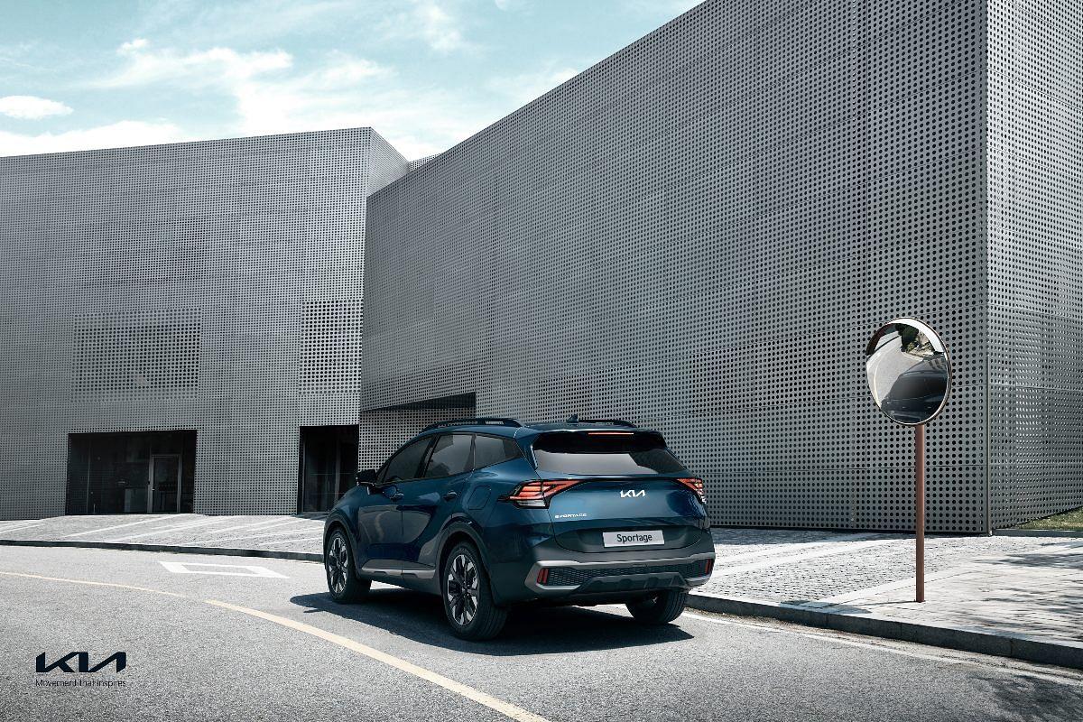 The Kia Sportage receives Remote Smart Park assist function