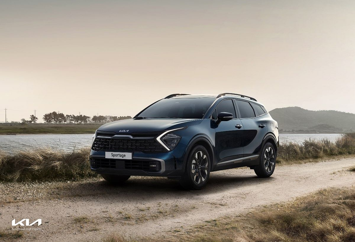 Terrain modes help the Sportage drive on snow, mud and sand