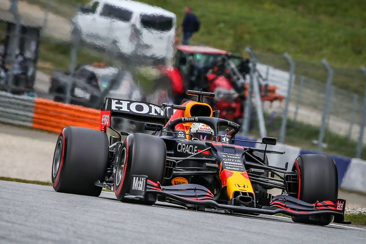 Max tops FP3 timesheet  which showed the strength of the RB16B chassis