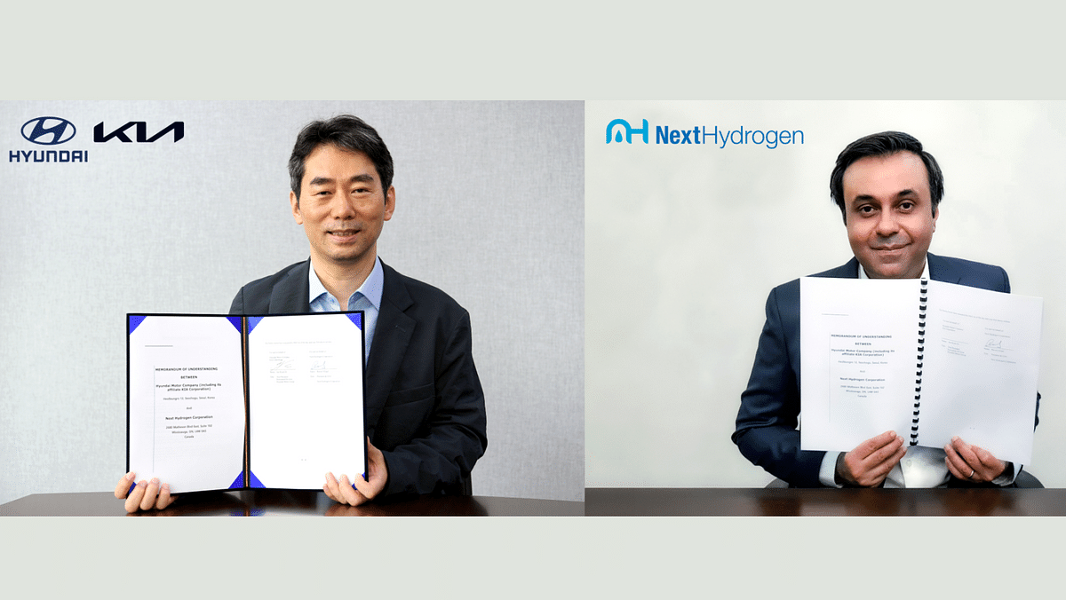 Hyundai Motor Group to industrialise the production of hydrogen