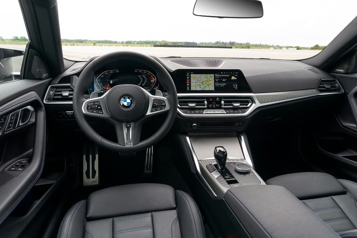 The new interiors and cabin have received a big update compared to the old 2-series