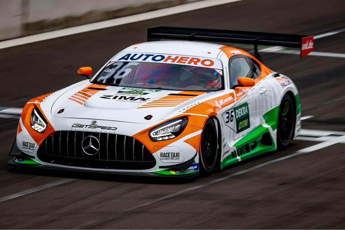 Arjun Maini retires from DTM Lausitzring