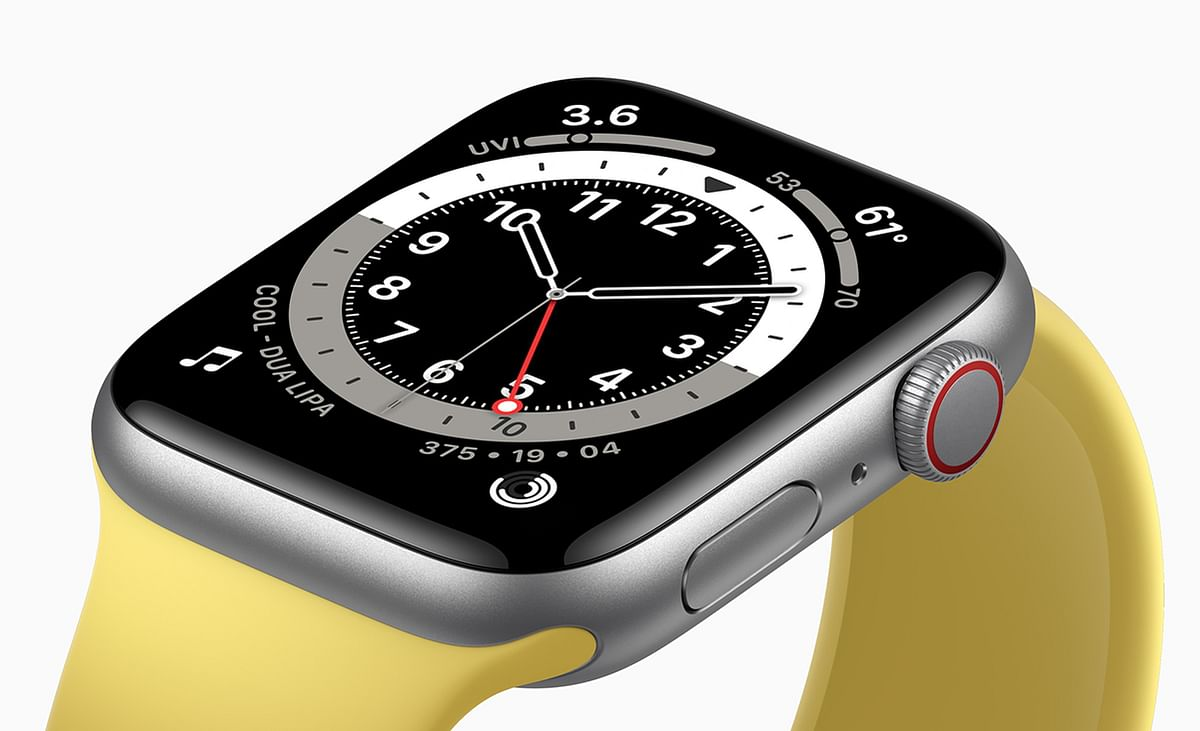 The Watch SE has an aluminium body and Apple's Ion-X glass