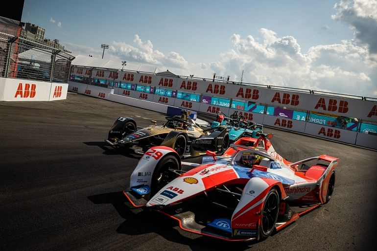 A mixed weekend for Mahindra Racing at the NYC E-Prix